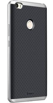Чехол-накладка для Xiaomi Mi Max iPaky Case сереброПрактичный чехол защищает девайс при падениях и ударах. Не секрет, что гаджеты часто роняют. Их ремонты стоят недешево. Позаботьтесь об этом заранее — защитите любимый девайс. В этом стильном чехле ваш мобильный гаджет будет долго выглядеть новым.<br>