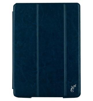 Чехол для iPad (2017) G-Case Slim Premium темно-синийПрактичный чехол защищает девайс при падениях и ударах. Не секрет, что гаджеты часто роняют. Их ремонты стоят недешево. Позаботьтесь об этом заранее — защитите любимый девайс. В этом стильном чехле ваш мобильный гаджет будет долго выглядеть новым.<br>