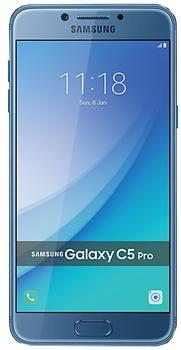 Samsung Galaxy C5 Pro 64 GbSamsung Galaxy C5 Pro – изящный, тонкий камерофон для активных людей. Девайс продолжает традиции успешной модели C5. Изюминкой гаджета стали две светосильные камеры с разрешением 16 Мп. Другой явный козырь смартфона – исключительно четкий SuperAMOLED-экра...<br><br>Цвет: Золотой