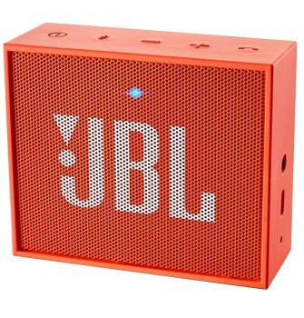 Портативная акустика JBL Go оранжеваяЭтот миниатюрный девайс обеспечит вас музыкой всюду: на пикнике, пляже, велосипедной прогулке. JBL GO предназначена для работы с мобильными гаджетами. Колонка, оснащенная аккумулятором, может звучать по интерфейсу Bluetooth или через стандартный 3,5 мм ау...<br>
