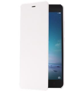 Чехол для Xiaomi Redmi Note 2 Flip Leather Case White