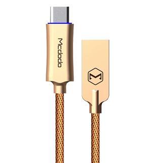 Кабель Mcdodo to Type-C Auto-Disconnect 1.m Brown