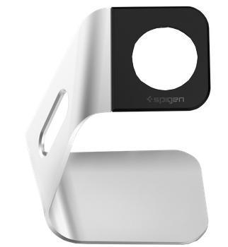 Подставка для Apple Watch SGP 38mm/42mm белаяЭтот стильный аксессуар позволяет комфортно подзаряжать смарт-часы Apple Watch.<br>