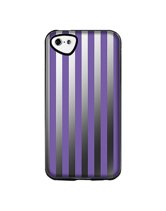 Накладка силиконовая для iPhone 5C Itskins Killer Chic Purple StripeК вопросу выбора аксессуаров для мобильной техники Apple следует подходить с осторожностью. Защищать изумительные iPhone должны лишь самые лучшие из чехлов, имеющиеся на рынке. Накладка компании Itskins   с её ярким слоганом  Будь уникальным  – вполне зас...<br>