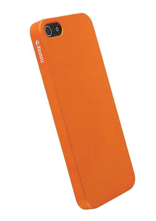 Чехол для iPhone 5/5S Krusell ColorCover Orange MetallicХотите сохранить iPhone 5 тонким и легким даже в чехле? Закажите Krusell ColorCover — практически невесомую защиту для элегантных форм новинки. Чехол-накладка сделан из приятного на ощупь и невероятно прочного поликарбоната ярких цветов-металлик. Это нове...<br>