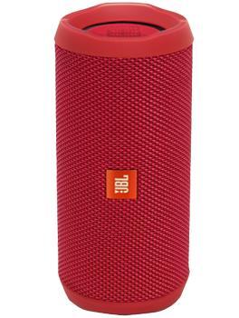 Портативная акустика JBL Flip 4 краснаяJBL Flip 4 — удобная беспроводная акустика для активного отдыха. Корпус этой модели хорошо защищен от воды и брызг по стандарту IPX7 (уточняйте гарантии у компании-производителя). Акустика может работать с двумя источниками сигнала — например, с планшетом...<br>