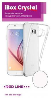 Накладка силиконовая для Xiaomi Redmi 4X iBox Crystal прозрачный