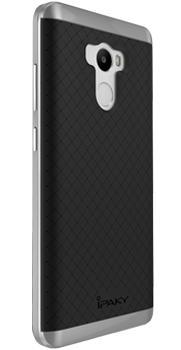 Чехол-накладка для Xiaomi Redmi 4 iPaky Case графитПрактичный чехол защищает девайс при падениях и ударах. Не секрет, что гаджеты часто роняют. Их ремонты стоят недешево. Позаботьтесь об этом заранее — защитите любимый девайс. В этом стильном чехле ваш мобильный гаджет будет долго выглядеть новым.<br>
