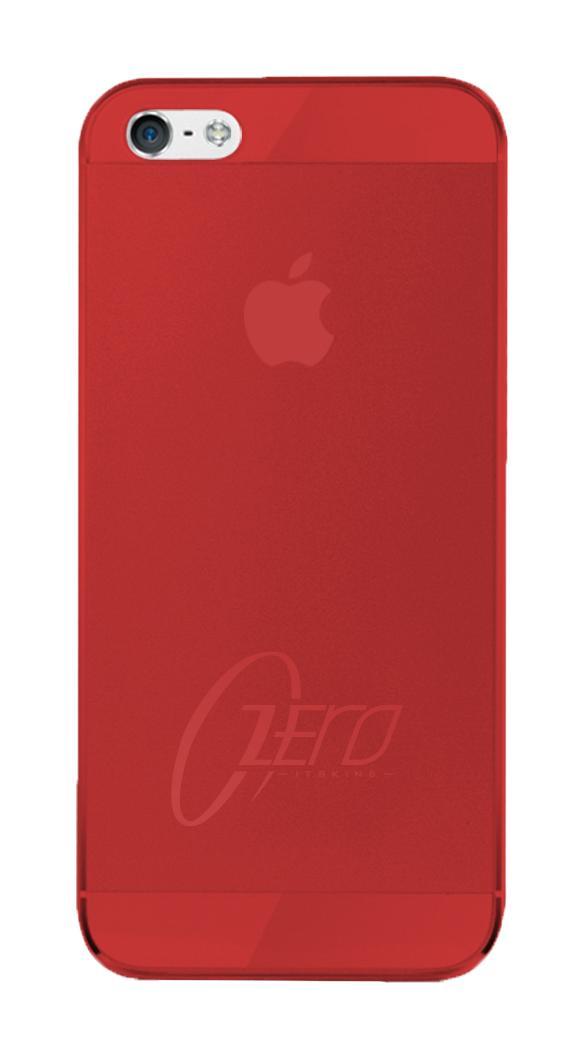Накладка силиконовая для iPhone 5/5S Itskins Zero.3 красныйНакладка для iPhone 5/5S Itskins Zero.3 позволит Вам дополнить образ яркими красками, добавить в него индивидуальности и настроения! Прочный, надежный, но вместе с тем очень тонкий и деликатный Itskins Zero.3 плотно облегает девайс, при этом размеры iPhon...<br>
