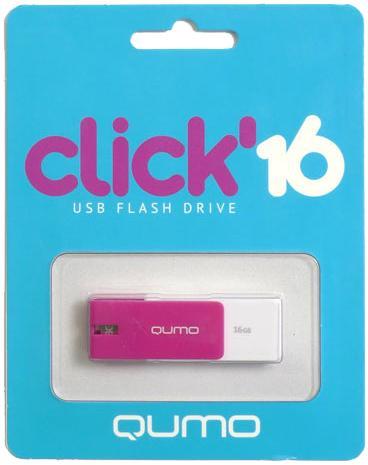 USB-накопитель Qumo Click USB 2.0 16GB Violet
