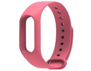Ремешок для Xiaomi Mi Band 2 розовыйКрасивый, стильный, практичный браслет-ремешок для смарт-часов Xiaomi Mi Band 2.<br>