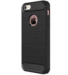 Чехол противоударный для iPhone 5/5S/SE черныйПротивоударный чехол защищает iPhone при падениях и ударах. Не секрет, что гаджеты часто роняют. Их ремонты стоят недешево. Позаботьтесь об этом заранее — защитите любимый девайс. В этом стильном чехле ваш мобильный гаджет будет долго выглядеть новым.<br>