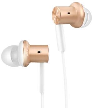 Наушники Xiaomi Mi In-Ear Headphones Pro GoldXiaomi Mi In-Ear Headphone Pro — высококачественные наушники-вкладыши для искушенного меломана. Модель обеспечит «прозрачность» звучания в сочетании с мощным басом. Это стало возможным благодаря совмещению арматурных и динамических излучателей. В комплект...<br>