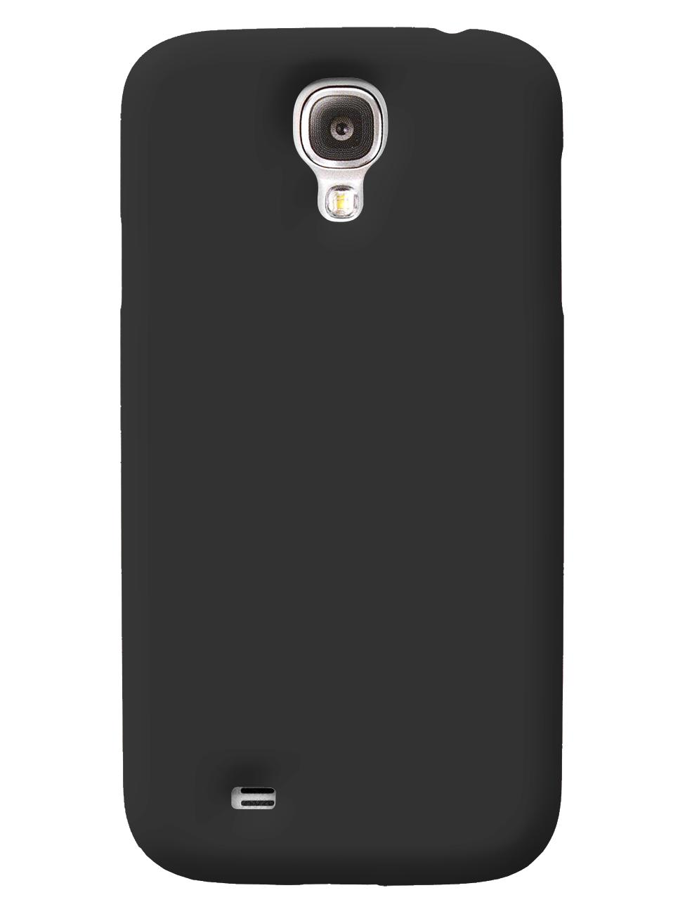 Чехол iCover для Galaxy S IV Rubber black