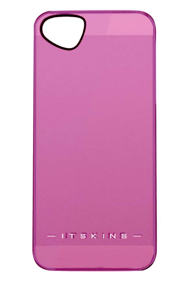 Накладка пластиковая для iPhone 5/5S/SE Itskins The new Ghost с защ.пленкой розовыйДизайнерское бюро ITSkins представило новую серию ультратонких пластиковых чехлов GHOST в нескольких цветовых решениях. Чехол сочетает в себе эстетическую привлекательность и функциональность - прекрасно защищает гаджет от внешнего воздействия. В комплект...<br>