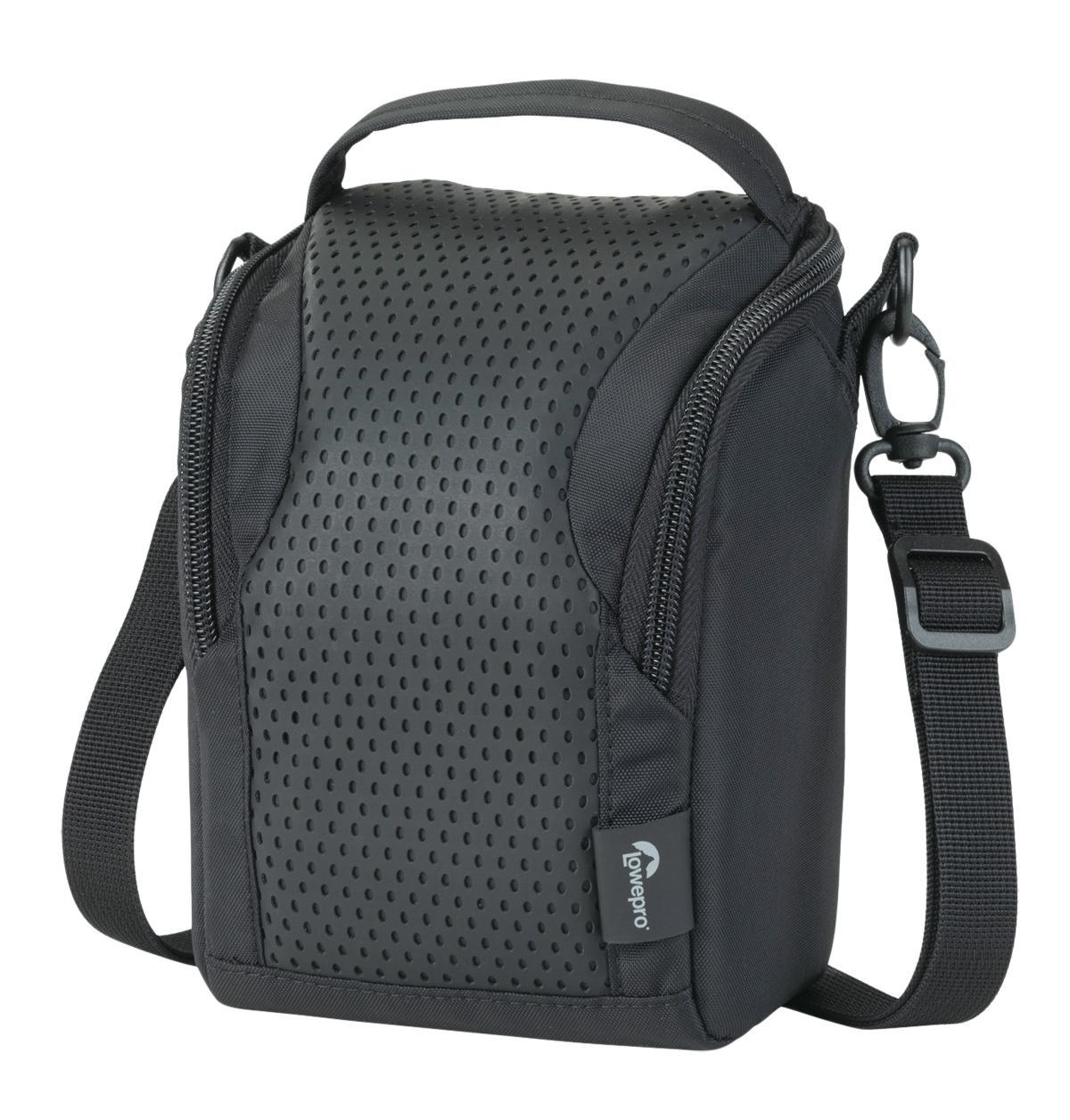 Lowepro Munich 100 черныйКомпактная сумка LowePro Munich 100 из прочного текстиля предназначена для переноски фотокамеры и сопутствующих гаджетов, таких как запасной аккумулятор, зарядное устройство, карты памяти. Сумка имеет одно внутреннее отделение и карман на молнии, можно но...<br>