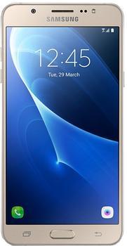 Samsung Galaxy J7 SM-J710 16Gb gold 2016Обновленный хит J-линейки получил богатый функционал. Новинка, выпущенная в апреле 2016, сразу располагает к себе большим AMOLED-дисплеем. Престижный бренд позаботился о фанатах «себяшек»: фронтальная камера получила 5 Мп фото-датчик с отдельной LED-вспыш...<br>