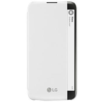 Чехол LG Flip Cover для LG K10 whiteПрактичный чехол защищает смартфон при падениях и ударах. Не секрет, что гаджеты часто роняют. Их ремонты стоят недешево. Позаботьтесь об этом заранее — защитите любимый девайс. В этом стильном чехле ваш мобильный гаджет будет долго выглядеть новым.<br>