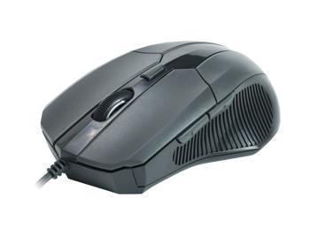 Проводная оптическая мышь CBR CM-301 GreyПроводная оптическая мышь с высокоточным сенсором 2400 dpi.<br>