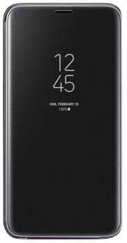 Чехол для Samsung Galaxy S9 Clear View Standing Cover black<br>