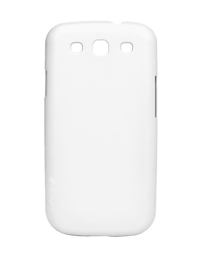 Чехол для Galaxy S III iCover Rubber whiteТонкая, яркая, модная и очень надежная. На этом достоинства iCover Glossy точно не заканчиваются. Панель идеально повторяет формы элегантного Galaxy S3 и не загораживает доступ к элементам управления. Корпус, толщиной всего несколько миллиметров, отличн...<br>