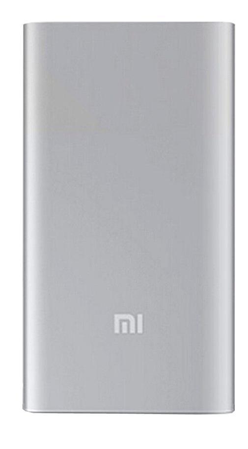Внешний аккумулятор универсальный Xiaomi Power bank 5000 mAh Silver