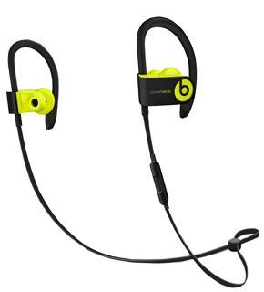Наушники Beats Powerbeats 3 YellowBeats Powerbeats 3 — долгоиграющие беспроводные наушники для активных спортсменов. Модель работает от батареи до 12 часов. Изделие, защищенное от попадания влаги, рассчитано на длительные спортивные тренировки. Технология Fast Fuel гарантирует очень быстр...<br>