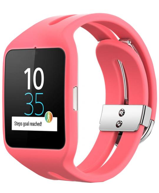 Sony Smartwatch 3 SWR50 PinkСмарт-часы Sony Smartwatch 3 SWR50 сделают вашу жизнь еще интересней. Аксессуар под контролем Android Wear вовремя предоставит всю актуальную информацию. Сердцем девайса является 4-ядерный чип ARM A7 с частотой 1,2 ГГц. Яркий 1,6-дюймовый дисплей с разреш...<br>
