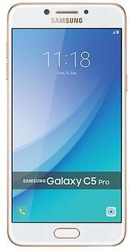 Samsung Galaxy C5 Pro 64 GbSamsung Galaxy C5 Pro – изящный, тонкий камерофон для активных людей. Девайс продолжает традиции успешной модели C5. Изюминкой гаджета стали две светосильные камеры с разрешением 16 Мп. Другой явный козырь смартфона – исключительно четкий SuperAMOLED-экра...<br>