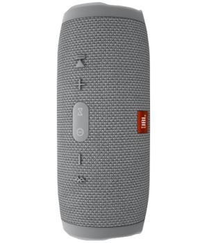 Портативная акустика JBL Charge 3 сераяАкустика JBL Charge 3 — портативный Bluetooth-гаджет для активного меломана. Этот динамик выдает громкий стерео-звук, избавляя от длинных кабелей. Заряда аккумулятора хватит примерно на 20 часов беспроводной музыки. Корпус гаджета прорезинен — устройство ...<br>