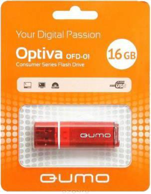USB-накопитель Qumo Optiva 01 USB 2.0 16GB Red