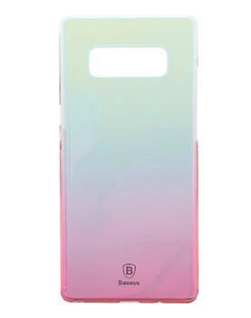 Чехол Baseus Glaze Case для Samsung Galaxy Note 8 PinkПрактичный чехол защищает смартфон при падениях и ударах. Не секрет, что гаджеты часто роняют. Их ремонты стоят недешево. Позаботьтесь об этом заранее — защитите любимый девайс. В этом стильном чехле ваш мобильный гаджет будет долго выглядеть новым.<br>
