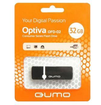 USB-накопитель Qumo Optiva 02 USB 2.0 32GB 32 GbКомпактный USB-накопитель сохранит ваши данные: фотоснимки, музыку, видео, документы… С помощью «флешки» легко перенести информацию с одного компьютера на другой. USB-накопитель — практичная вещь из разряда «must have» и отличный подарок.<br>