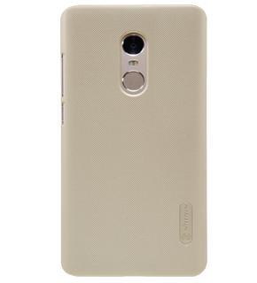 Чехол Nillkin Super Frosted Shield для Xiaomi Redmi Note 4 goldПрактичный чехол защищает девайс при падениях и ударах. Не секрет, что гаджеты часто роняют. Их ремонты стоят недешево. Позаботьтесь об этом заранее — защитите любимый девайс. В этом стильном чехле ваш мобильный гаджет будет долго выглядеть новым.<br>