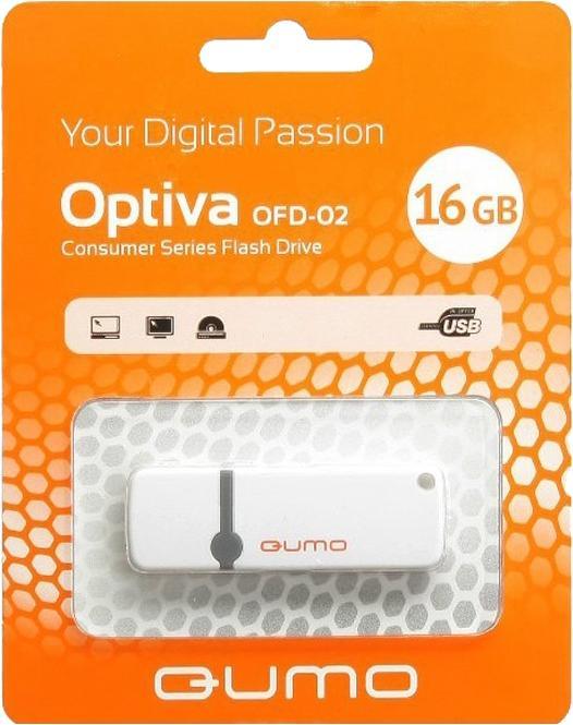 USB-накопитель Qumo Optiva 02 USB 2.0 16GB WhiteЯркая флешка Qumo Optiva 02 16GB с интерфейсом USB 2.0 - это не только надежный хранитель информации для тех, кто ценит гарантии и скорость, но и элемент, подчеркивающий вашу индивидуальность в атмосфере серых городских будней. Вся радуга цветов создаст п...<br>