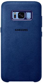 Чехол для Samsung Galaxy S8 Alcantara Cover blueПрактичный чехол защищает девайс при падениях и ударах. Не секрет, что гаджеты часто роняют. Их ремонты стоят недешево. Позаботьтесь об этом заранее — защитите любимый девайс. В этом стильном чехле ваш мобильный гаджет будет долго выглядеть новым.<br>