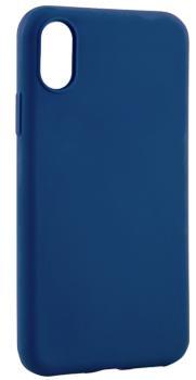 Чехол для iphone X Deppa Anycase матовый синийПрактичный чехол защищает iPhone при падениях и ударах. Не секрет, что гаджеты часто роняют. Их ремонты стоят недешево. Позаботьтесь об этом заранее — защитите любимый смартфон. В этом стильном чехле ваш мобильный гаджет будет долго выглядеть новым.<br>