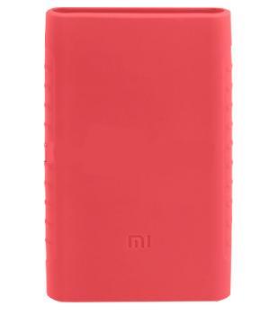 Оригинальный силиконовый чехол для Xiaomi Power bank 2 10000 mAh (розовый)Практичный чехол защищает Power bank от потертостей и царапин. В этом стильном чехле ваш мобильный аккумулятор будет долго выглядеть новым.<br>