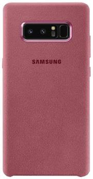 Чехол для Samsung Galaxy Note 8 Alcantara Cover pinkПрактичный чехол защищает смартфон при падениях и ударах. Не секрет, что гаджеты часто роняют. Их ремонты стоят недешево. Позаботьтесь об этом заранее — защитите любимый девайс. В этом стильном чехле ваш мобильный гаджет будет долго выглядеть новым.<br>