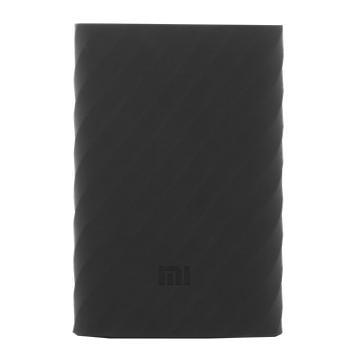 Оригинальный силиконовый чехол для Xiaomi Power bank 10000 mAh (черный)Практичный, стильный, недорогой чехол защищает ваш Power bank от царапин и повреждений.<br>