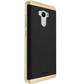 Чехол-накладка для Xiaomi Redmi 4 Pro iPaky Case золотоПрактичный чехол защищает девайс при падениях и ударах. Не секрет, что гаджеты часто роняют. Их ремонты стоят недешево. Позаботьтесь об этом заранее — защитите любимый девайс. В этом стильном чехле ваш мобильный гаджет будет долго выглядеть новым.<br>