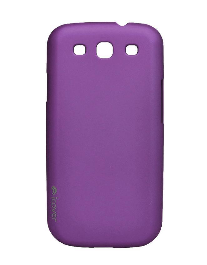 Чехол для Galaxy S III iCover Rubber purpleТонкая, яркая, модная и очень надежная. На этом достоинства iCover Glossy точно не заканчиваются. Панель идеально повторяет формы элегантного Galaxy S3 и не загораживает доступ к элементам управления. Корпус, толщиной всего несколько миллиметров, отличн...<br>