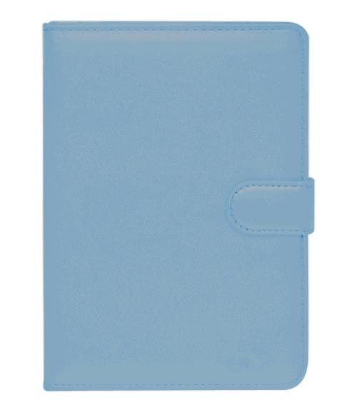 Чехол для Pocketbook 614/624/626 голубойЧехол убережет электронную книгу от повреждений, ударов и царапин. Удобен в использовании: не закрывает разъёмы устройства.<br>