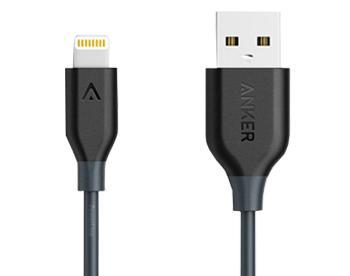 Кабель Lightning Anker нейлон (A7136H11) 0.9 метра, черныйДолговечный и прочный кабель для устройств Apple с оригинальным чипом Apple C48. Сертифицирован MFI. Обладает уровнем прочности 4 000+ изгибов.<br>