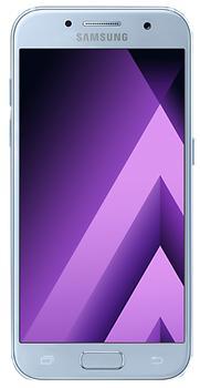 Samsung Galaxy A3 SM-A320F/DS Duos (2017) 16 GbSamsung Galaxy A3 SM-A320F/DS Duos (2017) — актуальный компактный смартфон с высокой производительностью и премиальным дизайном. Главная камера аппарата, получившая разрешение 13 Мп, пишет видео в качестве 1080p@30fps. Коммуникатор защищен по стандарту IP...<br>