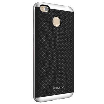 Чехол-накладка для Xiaomi Redmi 4x iPaky Case сереброПрактичный чехол защищает смартфон при падениях и ударах. Не секрет, что гаджеты часто роняют. Их ремонты стоят недешево. Позаботьтесь об этом заранее — защитите любимый девайс. В этом стильном чехле ваш мобильный гаджет будет долго выглядеть новым.<br>