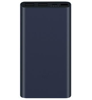 Внешний аккумулятор универсальный Xiaomi Power bank 2 (PLM09ZM) New 2USB 10000 mAh Black<br>