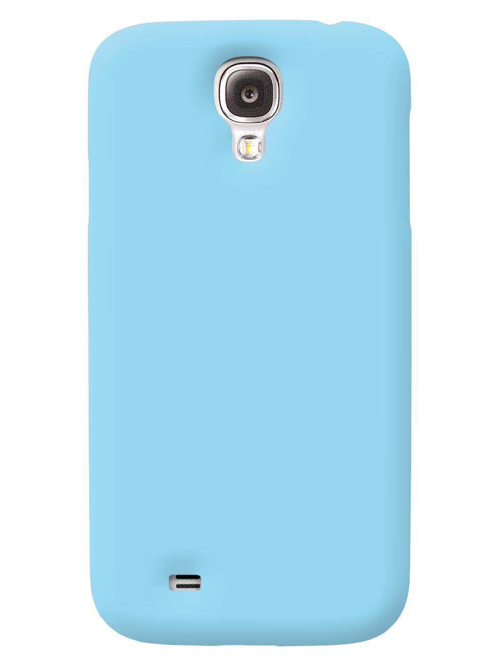 Чехол iCover для Galaxy S IV Rubber sky blueТонкая, яркая, модная и очень надежная. На этом достоинства iCover Rubber точно не заканчиваются. Панель идеально повторяет формы элегантного Galaxy S IV  и не загораживает доступ к элементам управления. Корпус, толщиной всего несколько миллиметров, отлич...<br>