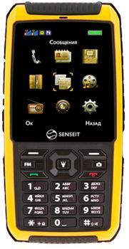 SENSEIT P300 желтыйSENSEIT P300 — надежный телефон-рация для туристов и экстиремалов. Модель оснастили PMR-paциeй УKB, необходимой для связи за пределами досягаемости обычных сотовых операторов. Этот 2-симочный аппарат может похвастать защищенностью по стандарту IP67. Аккум...<br>