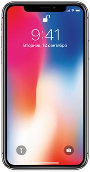 Apple iPhone X (A1902) 256 GbApple iPhone X – юбилейная модель бренда с рядом уникальных особенностей. Это 5,8-дюймовый OLED экран, обрамленный минимальными рамками. Это распознавание лиц, отсутствие кнопки Home, анимодзи. Процессор A11 Bionic, усиленный нейронной системой и чипом дв...<br>